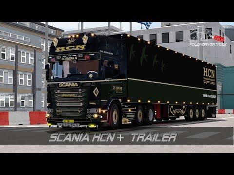Scania HCN + Shmitz Trailer v1.0