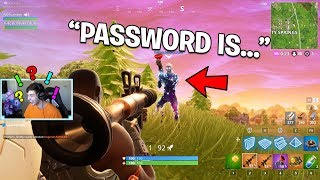 Confronting the guy who hacked my Fortnite Account..