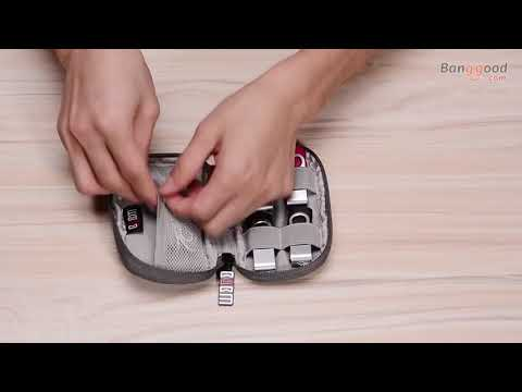How to keep your wires and another small gadget with BUBM Mini Portable Storage Pouch