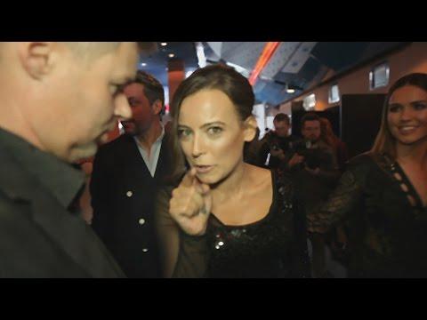 Anna Mucha zauważyła, że jest nagrywana
