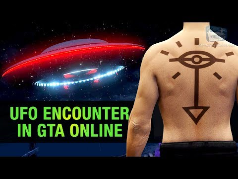 How To Get The Secret UFO Tattoo In GTA Online (Alien Easter Egg)