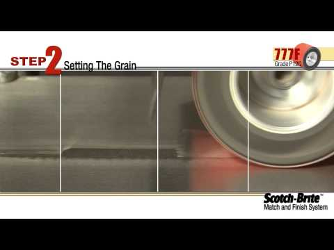 3M Power Tools Match and Finishing System Video
