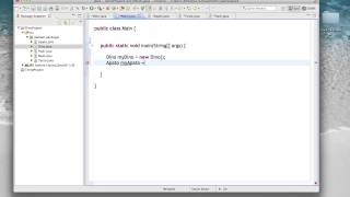 OO Programming In Java - Lecture 12 (1/20/13)