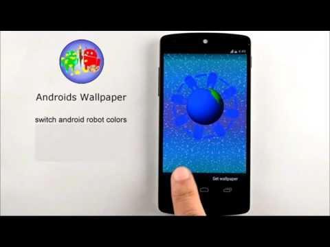 Video of Androids Wallpaper