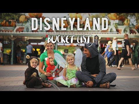 HALLOWEEN AT DISNEYLAND!! - The Bucket List Family