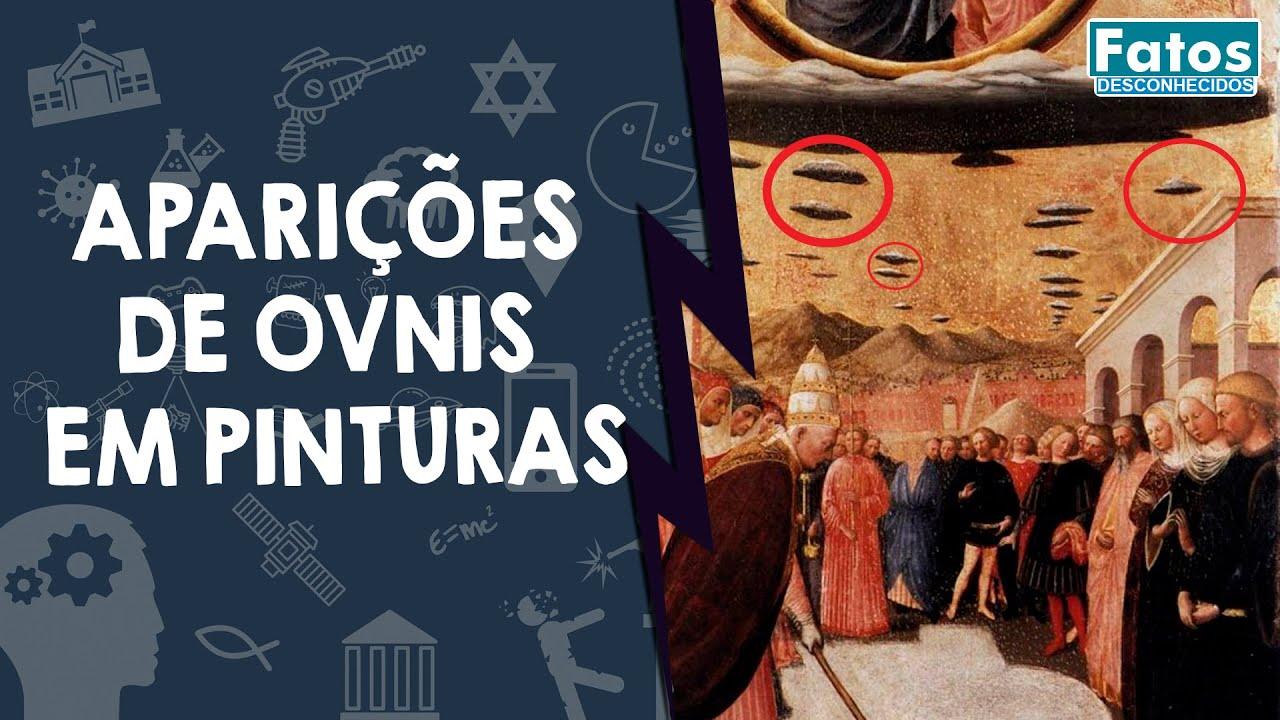 5 pinturas seculares que relatam aparições de OVNIs