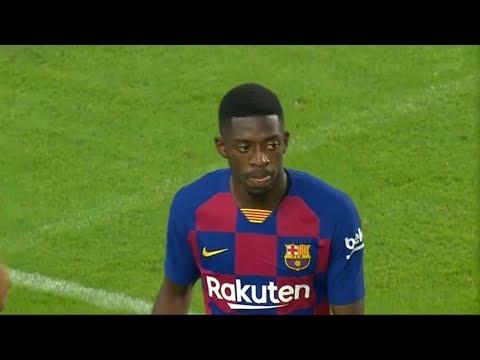 Ousmane Dembele vs Napoli (08/08/2019) HD