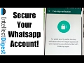 How To Secure Your Whatsapp Account With 2 Step Verification Security Feature? [Video Tutorial] Image