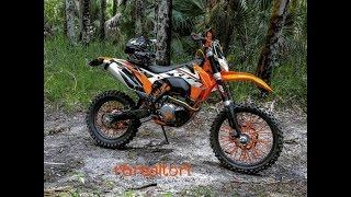 ktm 500 exc xcw crash fail trails off road dual sport 125 250 300 450 mx