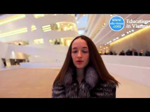 Обучение в Вене. Отзыв от студентки Ирины Сидоровой (видео)