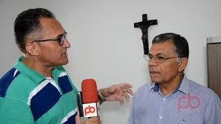 Padre Nicodemos fala sobre a inauguração da nova sede do Sindicato Rural de Nazarezinho
