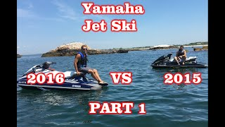 6. Yamaha VX Deluxe 2015 vs 2016 : Part 1 - Quick Overview