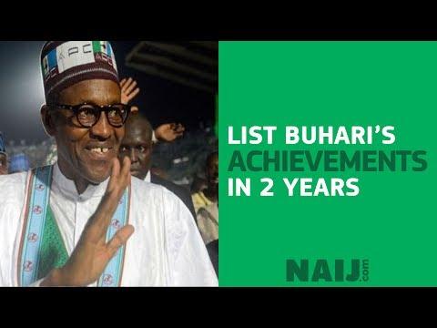 List President Buhari's achievements in two years   Legit TV