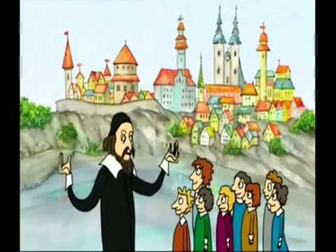 Jan Amos Komensky (John Amos Comenius) (видео)