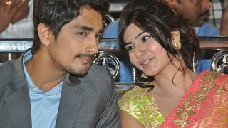 What Happened Between Samantha And Siddharth!
