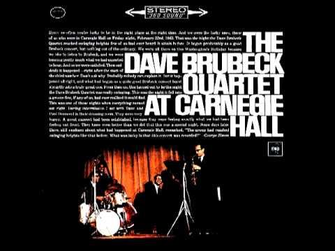 Video The Dave Brubeck Quartet - Take Five - At Carnegie Hall (1963) download in MP3, 3GP, MP4, WEBM, AVI, FLV January 2017