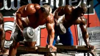 Bodybuilding\'s Monsters training