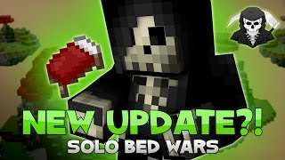 EPIC BEDWARS UPDATE! SOLO + TEAMS OF 2 RELEASED! (Hypixel Bedwars)