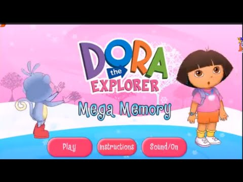 mega memory - Watch and play Dora the Explorer ( Dora Exploradora in Espanol or Dora l'Exploratrice en Francais ) dora mega memory episode games at http://www.GamePlayWebs...