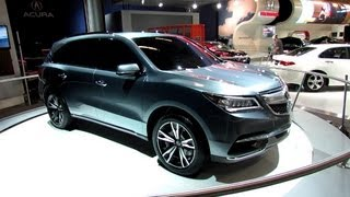 2014 Acura MDX Prototype - Exterior Walkaround - 2013 Salon De L'Auto De Montreal