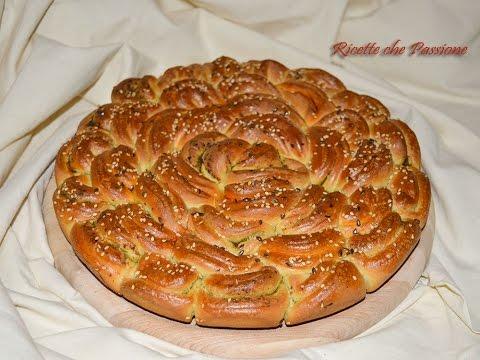 fiore di pan brioche - ricetta