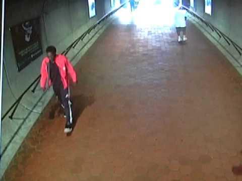 Surveillance Footage of Sexual Assualt Suspect