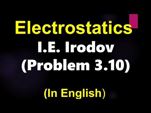 Physik-Electrostatic: elektrische Feld-Problem-Irodov Problem