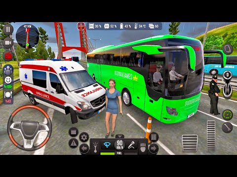 Bus Simulator Ultimate 17 Tourism 019 RHD! Bus Games Android gameplay