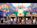 [HD] Tour of the NEW Krustyland's Simpons Games at Universal Studios Hollywood