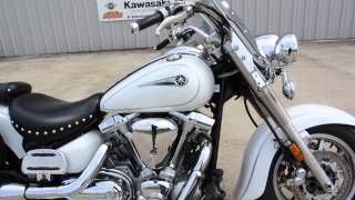 8. $4,599:  2006 Yamaha Road Star 1700 Silverado White