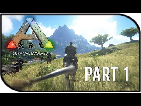 "ARK: Survival Evolved Gameplay Part 1 - ""Starting Out Fresh!"" (Basic Tutorial + GIVEAWAY!!)"