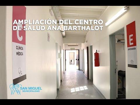 """inauguración y renovación del Centro de Salud """"Ana Barthalot"""""""