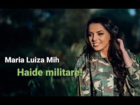 Maria Luiza Mih -  Haide militare! - Nou 2020