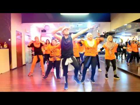 Ahmed Chawki - Time Of Our Lives (Arabic) By Ikmal Hisham MY Fit Dance