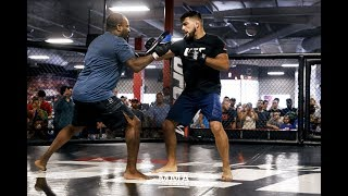 Kelvin Gastelum showed off his striking abilities and dance moves Thursday at the UFC on FOX 25 open workouts in New York.Subscribe: http://goo.gl/dYpsgHCheck out our full video catalog: http://goo.gl/u8VvLiVisit our playlists: http://goo.gl/eFhsvMLike MMAF on Facebook: http://goo.gl/uhdg7ZFollow on Twitter: http://goo.gl/nOATUIRead More: http://www.mmafighting.comMMA Fighting is your home for exclusive interviews, live shows, and more for one of the world's fastest-growing sports. Get latest news and more here: http://www.mmafighting.com