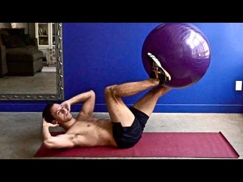100 abs exercises on the ball