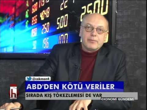 Dr. Cüneyt Akman'la Piyasalar: ABD'den kötü veriler