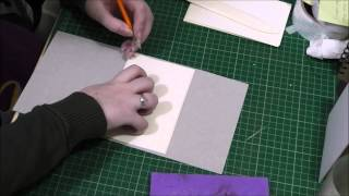Tutorial How To Make A Soft Cover Wrap Around Book