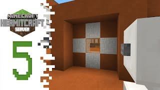 Hermitcraft (Minecraft) - EP05 - Door And Landing Pad!