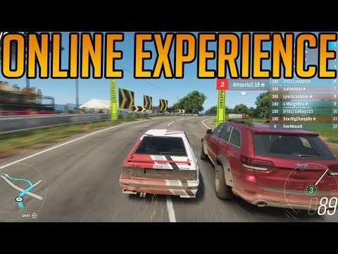 Forza Horizon 4: My First Online Multiplayer Experience