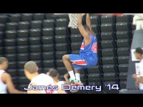 James Demery (ESPN #82 In 2014) @ The NBPA Top 100 Camp