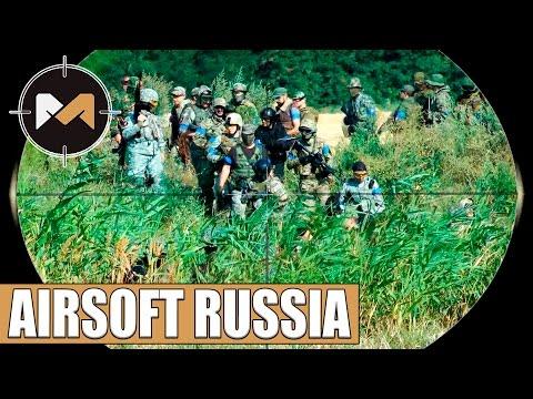 AIRSOFT RUSSIA. Sniper and Assault. Летсплей по страйкболу