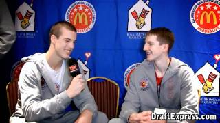 The Brothers (Marshall Plumlee & Cody Zeller) - 2011 McDonald's All-American Game