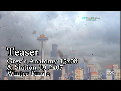 """Grey's Anatomy 15x08 and Station 19 2x07 Teaser """"The Storm is Coming"""" Fall Finale"""
