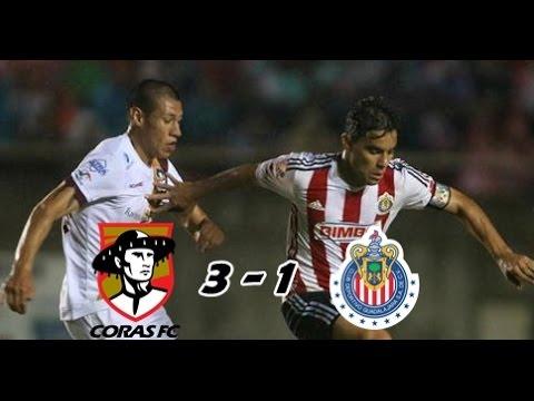 Coras vs Chivas, Copa MX