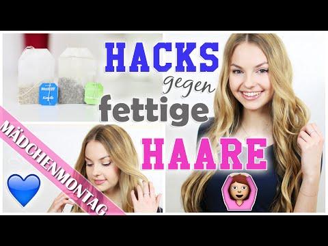 10 HACKS / Tipps gegen FETTIGE HAARE + coole VERLOSUNG | MädchenMontagMai | xLaeta