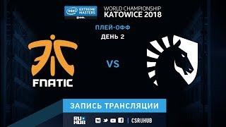 fnatic vs Liquid - IEM Katowice 2018 - map2 - de_mirage [Enkanis, CrystalMay]