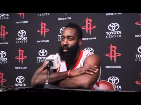 James Harden Full Houston Rockets Interview - Media Day 2014