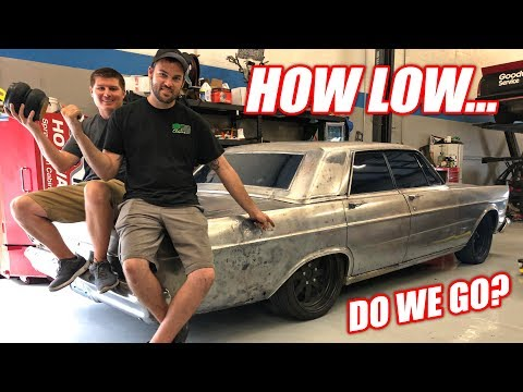 Our DIESEL Powered Ford Galaxie is Getting AIR RIDE! + CHOOSING A NAME (please vote)