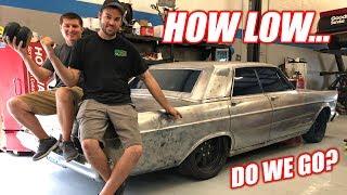 Our DIESEL Powered Ford Galaxie is Getting AIR RIDE! + CHOOSING A NAME (please vote)